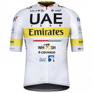 2021年新品チーム UAE エミレーツ ツール・ド・フランス 限定 ジャージ ポガチャル コルナゴCOLNAGO 自転車 ロードバイク