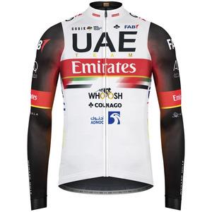 2021年新品チーム UAE エミレーツ ロング ジャージ ポガチャル コルナゴCOLNAGO 自転車 ロードバイク GOBIK