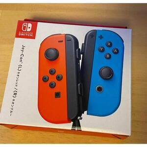 新品未使用 Nintendo Switch Joy-Con ネオンレッド/ブルーNintendo Switch