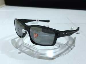 1円スタート 新品 偏光レンズ OAKLEY CHAINLINK オークリー チェーンリンク BLACK IRIDIUM POLARIZED ポラライズド サングラス OO9247-09