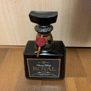 SUNTORY サントリー ROYAL Premium 12 ローヤル 黒ラベル 12年 ウイスキー 43% 720ml