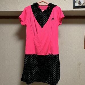 アディダス ピンクが、可愛い ヨガ、ランニング、Tシャツ O LL