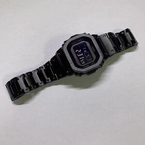 G-SHOCK Gショック ジーショック 5600 CASIO カシオ デジタル 腕時計gw-b5600bc-1b ステンレスフルメタルカスタム 電波ソーラー ブラック