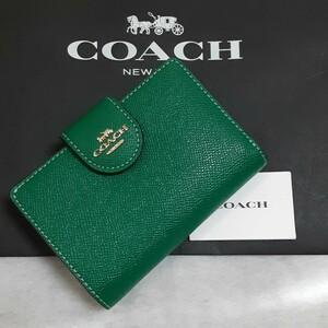 【新品】コーチ COACH 二つ折り財布 6390