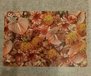 クオカード QUOカード5000円分 未使用 1枚