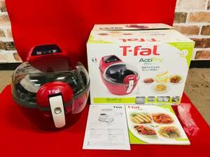L-4132②: T-fal/ティファール アクティフライ レッド 調理家電 未使用品