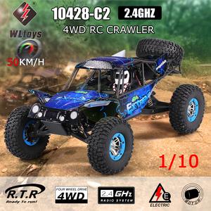 【送料無料/税込】 WLtoys 10428-C2 1/10 2.4G 4WD電動ロッククローラーオフロードバギー砂漠バハRCカーRTR ラジコン