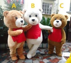 【送料無料/税込】 コスプレ 衣装 コスチューム テディ風 クマ くま Teddy 着ぐるみ