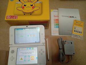3DS XL(LL) 本体(ピカチュウイエロー) 北米版 海外版 中古 美品