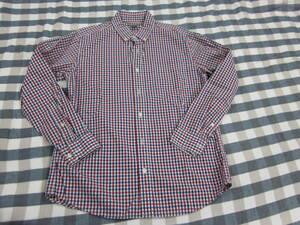 Eddie Bauer~エディー・バウアー メンズ長袖シャツ ゆったりSサイズ