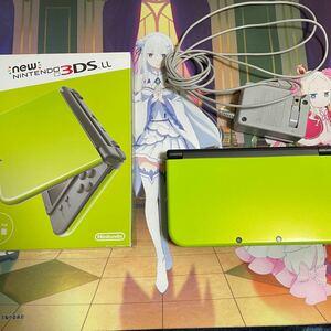 New Nintendo 3DS LL 本体 LIME×BLACK