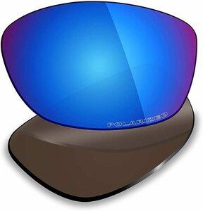 処分価格!POLARIZED刻印入り!★Pit Bull ピットブル用 カスタム偏光ハイグレードレンズ ANTI SALT ICE BLUE Polarized 新品 PitBull