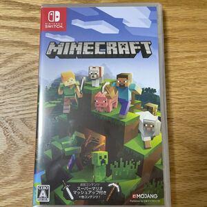 マインクラフト  Minecraft Switch 新品、未開封品