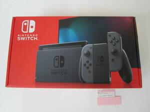 未使用 Nintendo Switch ニンテンドー スイッチ HAD-S-KAAAA グレー 本体 保証用レシート付 激安1円スタート