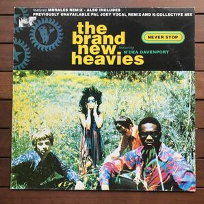 ●【r&b】The Brand New Heavies / Never Stop[12inch]オリジナル盤《2-1-51 9595》