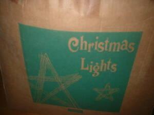 クリスマスライト未使用品