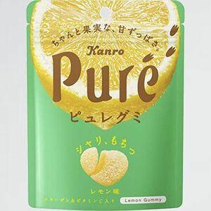 新品 未使用 ピュレグミ カンロ M-1G レモン 56g×6袋