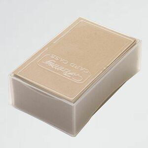 新品 未使用 名刺用紙 クラフト 5-6Q 名刺サイズ 100枚 モダンクラフト紙 約0.25mm 厚口