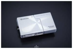 ★中古・動作△★ KYOCERA 京セラ デジタルカメラ Finecam SL300R シルバー