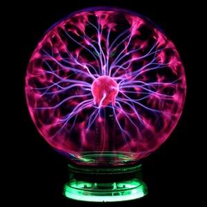 新品 AT7655 3/4/5/6/8 インチすべて株式クリスタルプラズマボール夜光魔法ガラス球ノベルティ 光プラズAC30