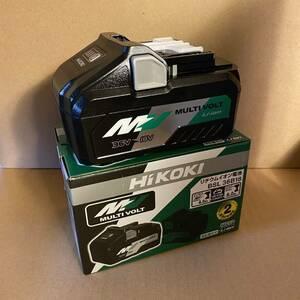 【送料込み!】HiKOKI 高容量マルチボルトバッテリー BSL36B18 ※古いHITACHI品番ではありませんのでご安心下さい。