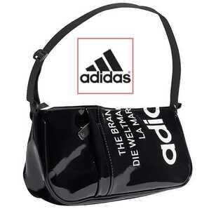 エナメル★新品★アディダス ボディバッグ ブラック★黒 adidas ショルダーバッグ ウエストバッグ ポーチ オリジナルス GN4450 ナイキ
