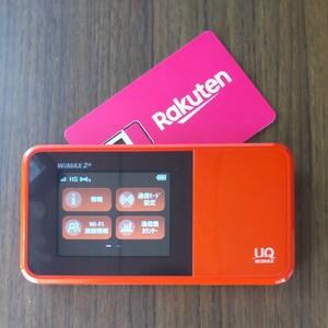 楽天設定済 WiMAX2+ SPEED Wi-Fi NEXT W03 UQ HWD34 通信モード切替可 227