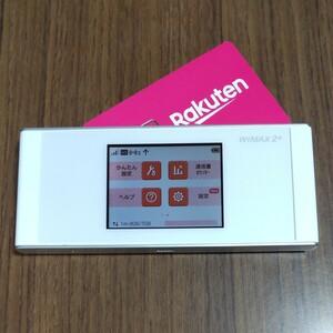 楽天設定済 WiMAX2+ SPEED Wi-Fi NEXT W05 au HWD36 通信モード切替可 232