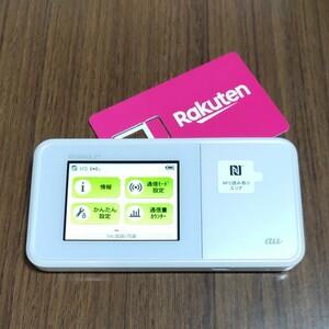 楽天設定済 WiMAX2+ SPEED Wi-Fi NEXT W03 au HWD34 通信モード切替可 231