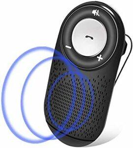 黒 Wodgreat 車載用 Bluetoothスピーカー ワイヤレススピーカー ハンズフリー ポータブルスピーカー 大音量 音
