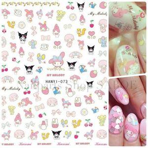 ネイルシール マイメロ クロミ サンリオ ネイルステッカー  nail sticker