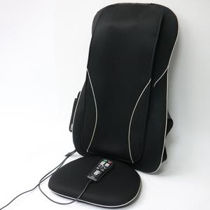 218) FUJIIRYOKI フジ医療器 シートマッサージャー マイリラ my relax ブラック MRL-1100