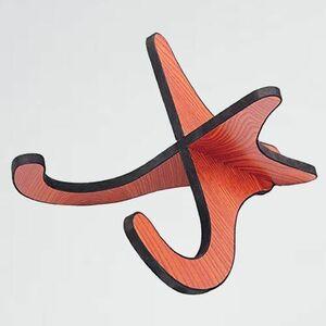 新品 目玉 ウクレレ ColorfylCoco(カラフィルココ) Z-81 木目 ウッドカラ- スタンド 木製 ミニギタ- バイオリン など 小型の弦楽器用