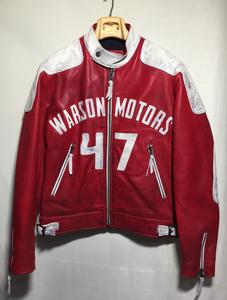 Warson Motors ヴィンテージ加工 モーターサイクル レザー ジャケット limited edition ワーソンモータース ライダース モトーリモーダ