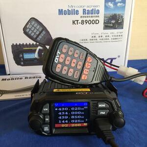 QYT KT-8900D 25w機 新品未使用品 144/430MHz DUAL BAND FM トランシーバー 送受信機 元箱 取説(英語)