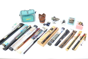 【ト葛】釣り道具まとめ 釣竿・リール・バッグなど CA192EWH18