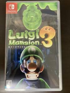 【Nintendo Switch】 ルイージマンション3【任天堂】