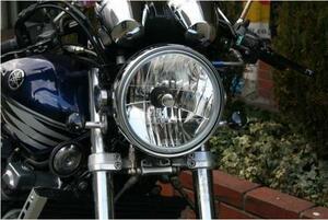 KINGDOM ヤマハ XJR1200/XJR1300 マルチリフレクターヘッドライト