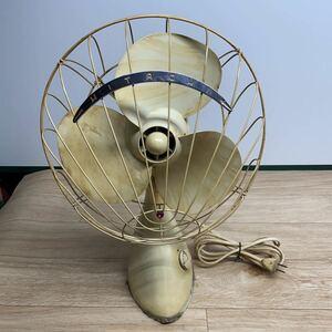 HITACHI 日立 扇風機 A.C.DESK FAN M-6036A 昭和レトロ
