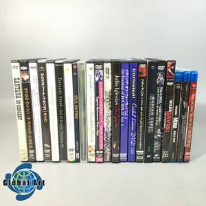 ★B10297/洋楽/LIVE DVD/MADONNA/BEYONCE/destiny's child/Julio Iglesias 等/まとめて/計22点セット/Blu-ray含