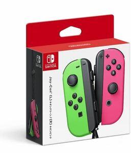 Nintendo Switch ネオンピンク ネオングリーン ジョイコン 任天堂 新品未開封