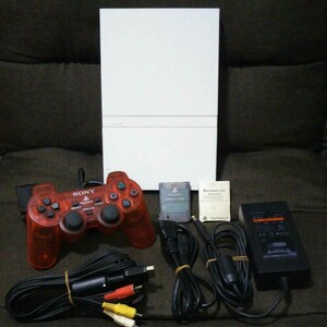 SONY PS2 SCPH-75000 本体 セット(ホワイト)