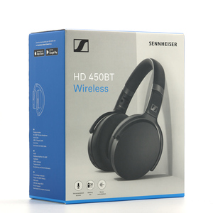 AQ0241 / 未使用B SENNHEISER ゼンハイザー ワイヤレス オーバーイヤー型 ヘッドホン HD450BT Bluetooth5.0 ノイズキャンセリング ブラック
