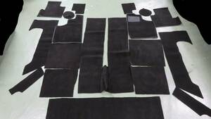 Lotus Europa S 2* interior carpet for 1 vehicle * black Britain Europe engineer ring company manufactured