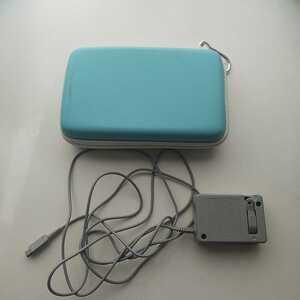 Nintendo 3DS LL 収納ケース ACアダプタ [WAP-002(JPN)] (DSi・DSiLL・3DS・3DSLL・NEW3DS・NEW3DSLL用) ニンテンドー3DS LL 任天堂
