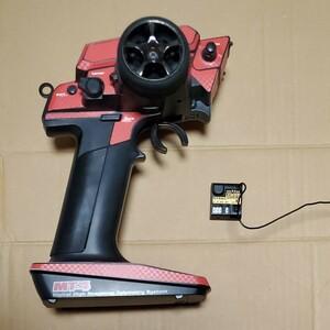 ラジコン  SANWA MT4 コントローラー 受信機RX371 バッテリーセット プロポ
