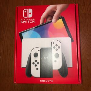 Nintendo Switch ホワイト 新品未開封 任天堂 ニンテンドースイッチ 有機EL 未使用