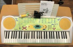 送料無料S33267 カシオ光ナビゲーションキーボード LK-37 ルーチェ カシオ 電子ピアノ ヘッドフォン付 CP-16 取説あり