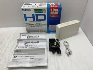 送料無料S33667 I-O DATA/アイ・オー・データ HDCS-U 外付け ハードディスク