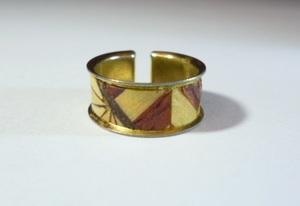 ξ  A woodwork ring ξ  Japanese style ring
